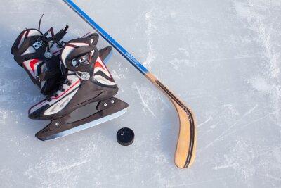 Carta da parati Hockey su ghiaccio.