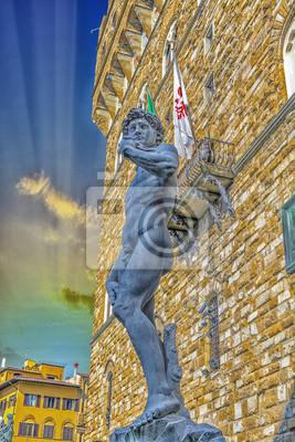 Carta da parati Il David di Michelangelo.