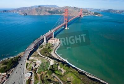 Carta da parati Il Golden Gate Bridge nella baia di San Francisco