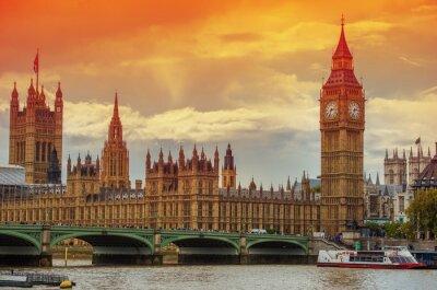 Carta da parati Il Palazzo di Westminster