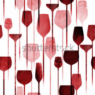 Carta da parati Il partito di arte di carta strutturato del collage beve il modello senza cuciture, bevande variopinte concettuali dell'alcool che ripete il fondo per il web e lo scopo della stampa.