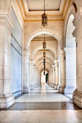 Carta da parati Il passaggio del famoso Palazzo cubano, oggi è il museo
