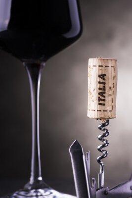 Carta da parati il vino italiano
