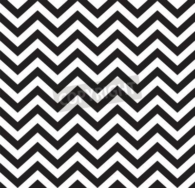 Carta da parati Illustrazione vettoriale senza soluzione di pattern geometrica zigzag
