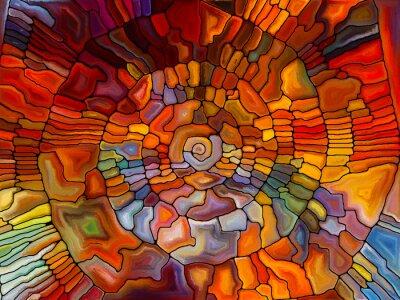 Carta da parati In Search of Stained Glass