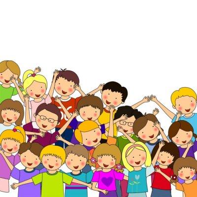 Carta da parati Infancia