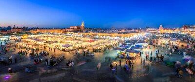 Carta da parati Jemaa El Fna, Marrakech