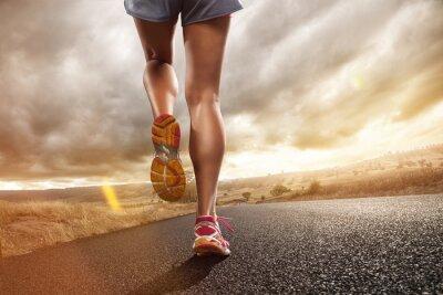 Carta da parati Jogging