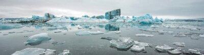 Carta da parati Jokulsarlon, laguna glaciale, Islanda