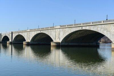 Carta da parati Key Bridge a Washington DC