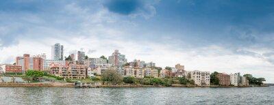Carta da parati Kirribilli vista panoramica, Sydney