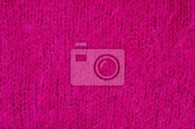 Knit Pelliccia Di Lana Texturepink Soffice Tessuto Thread In Carta