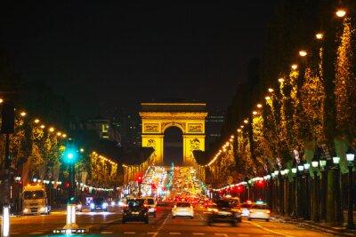 Carta da parati L'Arc de Triomphe de l'Etoile di Parigi
