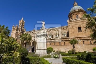 Carta Da Parati A Palermo.Carta Da Parati La Cattedrale Di Palermo
