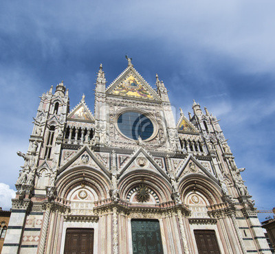 Carta da parati La Cattedrale di Santa Maria, Siena