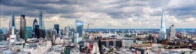 Carta da parati La City di Londra Panorama