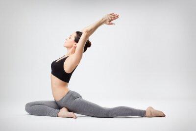 Carta da parati la donna yoga