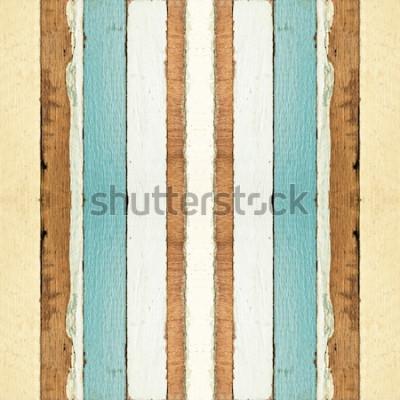 Carta da parati La vecchia struttura di legno senza cuciture variopinta delle plance, può essere usata per fondo