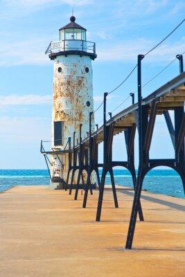 Carta da parati Lago Michigan Faro