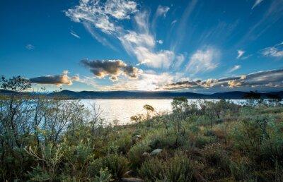 Carta da parati Lake Jindabyne in NSW.