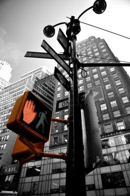 Carta da parati lampeggiante New York boradway