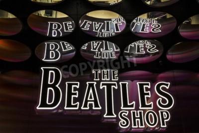 Carta da parati Las Vegas - Circa dicembre 2016: I Beatles Shop presso il Mirage. Questo è l'unico negozio di negozi Beatles autorizzato I