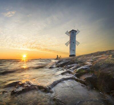 Carta da parati Latarnia Morska
