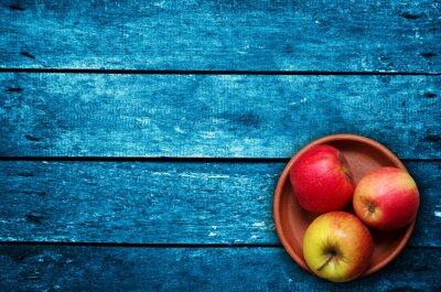 Carta da parati le mele sul tavolo