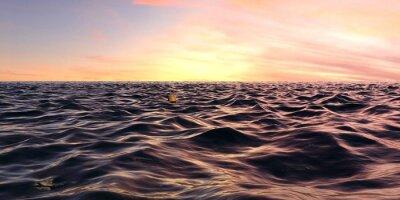 Carta da parati Le prime onde Alba Panorama oltre oceano