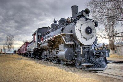Carta da parati Leggi treno
