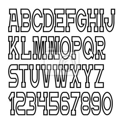 Carta Da Parati Lettere Alfabeto.Lettere Vector Alfabeto Numeri Carta Da Parati Carte Da Parati