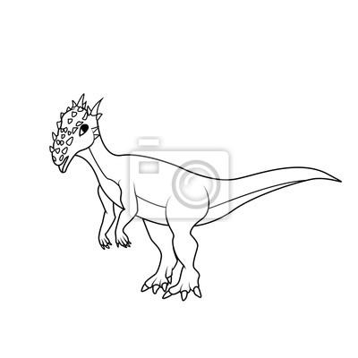 Libro Da Colorare Dinosauro Dracorex Hogwartsia Carta Da Parati