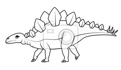 Libro Da Colorare Stegosaurus Dinosauro Carta Da Parati Carte Da