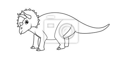 Libro Da Colorare Triceratops Carta Da Parati Carte Da Parati