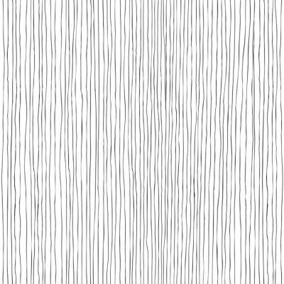 Carta da parati Linee verticali seamless pattern disegnati a mano