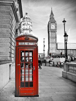 Carta da parati London impressione