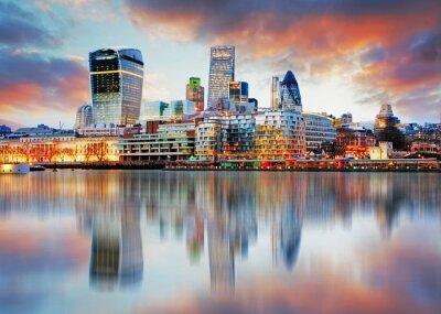 Carta da parati London skyline
