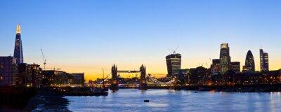 Carta da parati London Skyline Panoramic