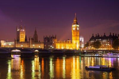Carta da parati Londra di notte