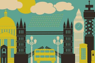 Carta da parati Londra View