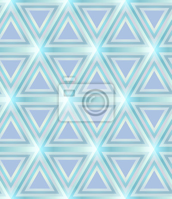 Luce Griglia Triangolare Blu E Lilla Sfondo Geometrico Senza Carta