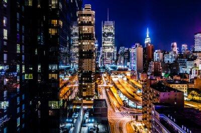 Carta da parati Luces de Nueva York