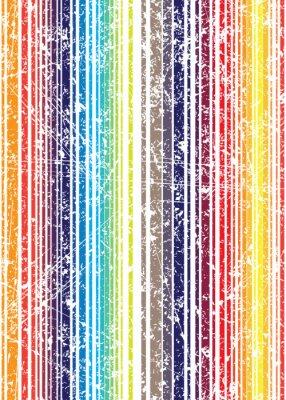 Carta da parati luminoso stile grunge motivo a strisce senza soluzione di continuità squallido colori. V
