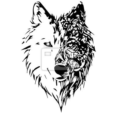 Carta da parati lupi