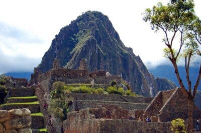 Carta da parati Machu Picchu e Huayna Picchu
