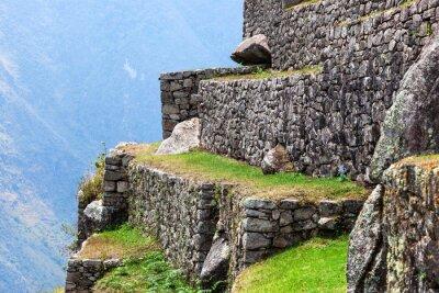 Carta da parati Machu Picchu, le vecchie mura