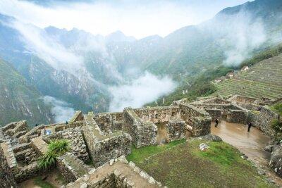 Carta da parati Machu Picchu, un patrimonio mondiale dell'UNESCO