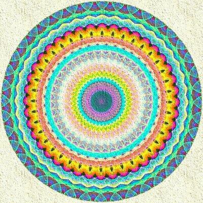 Carta da parati Mandala ornamento