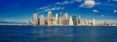 Carta da parati Manhattan in una giornata soleggiata.