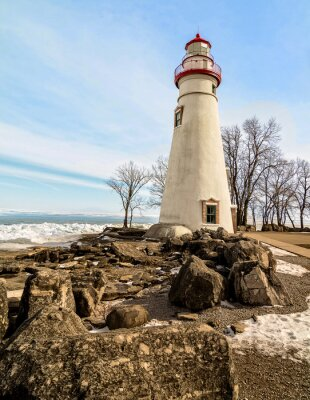 Carta da parati Marblehead Lighthouse